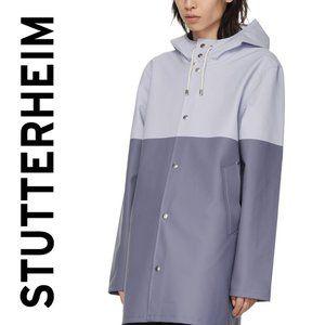 Stutterheim Stockholm Blocked Skyway Rain Jacket